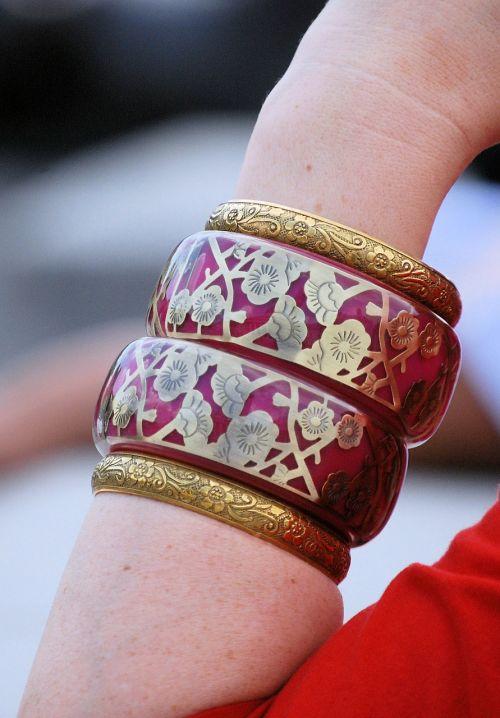 bracelet pretty enamel