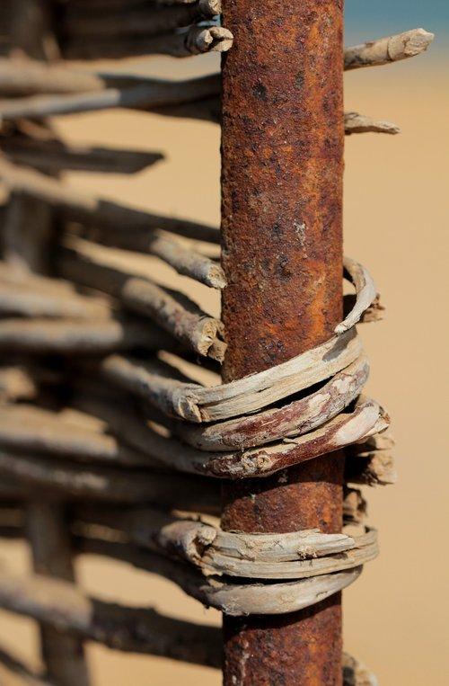 braid  rust  rusty