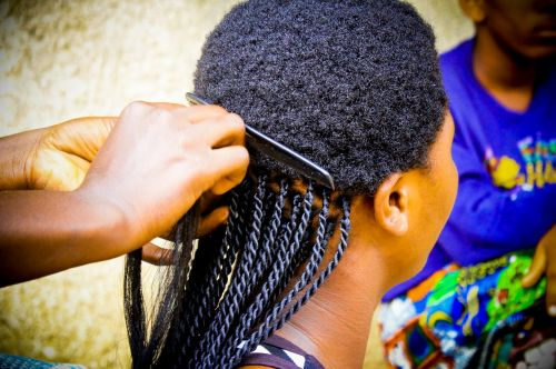 braid african girl black beautiful
