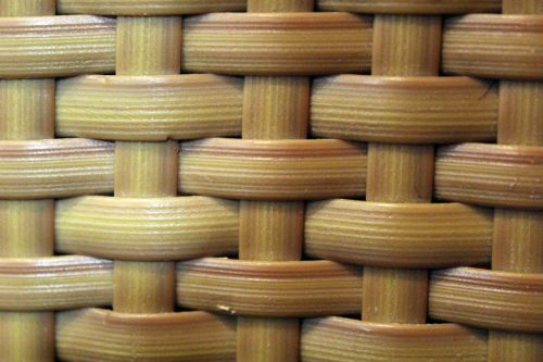Braided Bamboo Wood Background