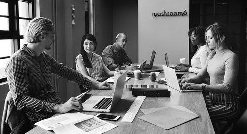 brainstorming  people  work