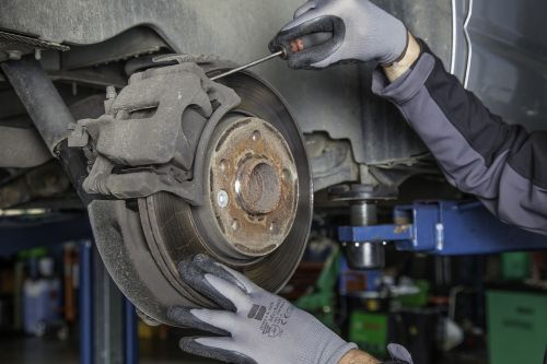 brake disc workshop auto