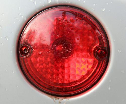 brake light red light