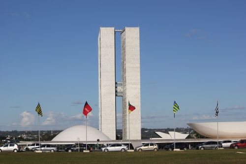 brasilia buildings twins