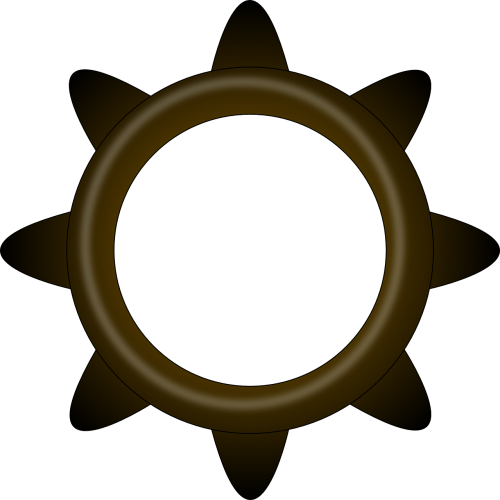 brass gear cogwheel
