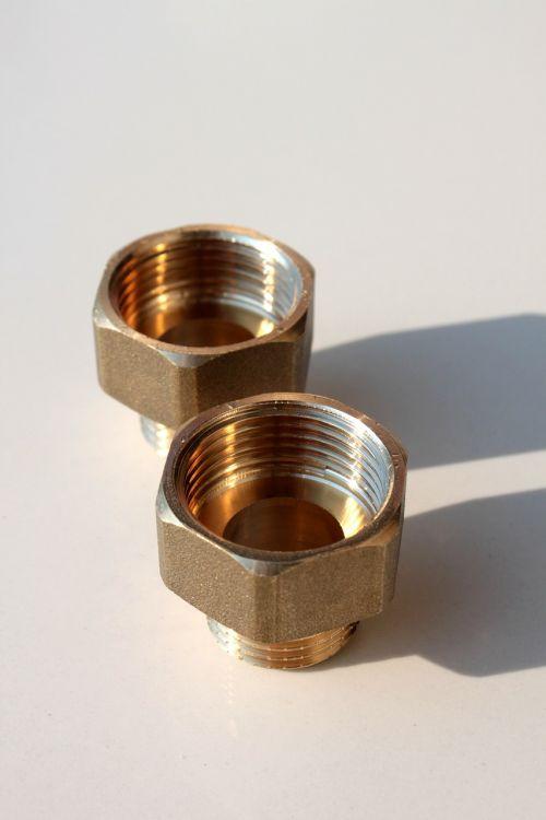 brass connector copper
