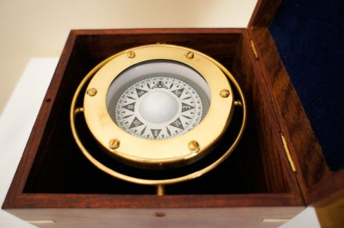brass nautical compass stylish compass in the box compass captain