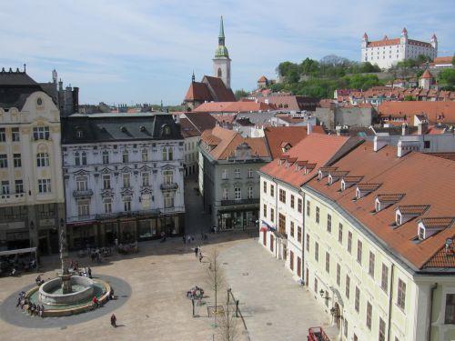 bratislava slovakia center