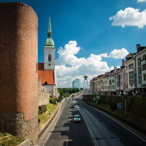 bratislava slovakia most snps