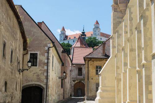 bratislava slovakia old town