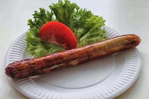 bratwurst sausage eat