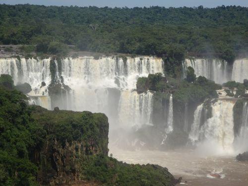 brazil iguazu waterfall