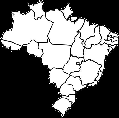 brazil geography map