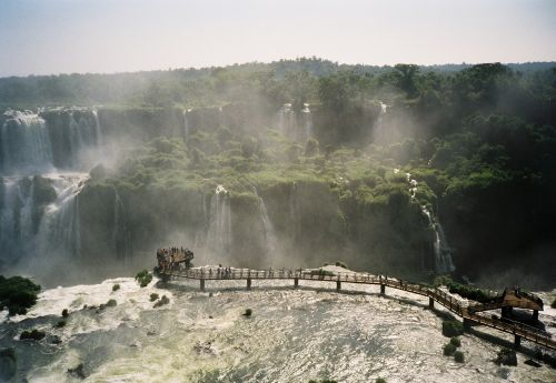 brazil waterfalls iguazu
