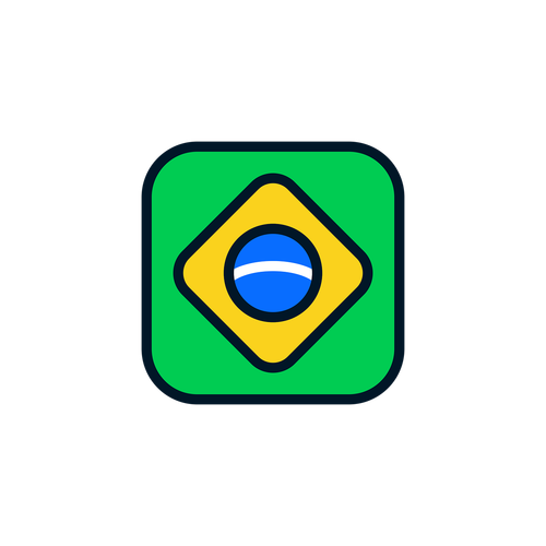 brazil  brazil icon  brazil flag