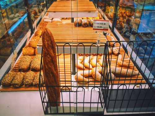 bread shop the shop window