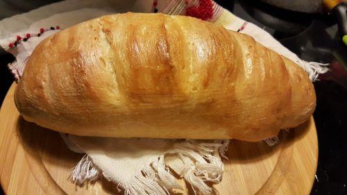 bread loaf baking
