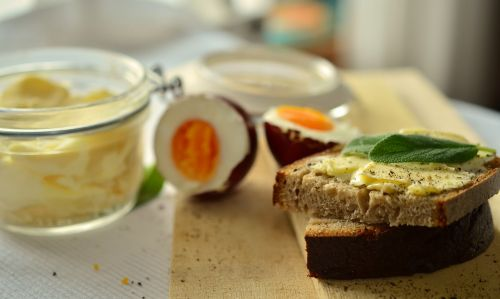 bread butter breakfast