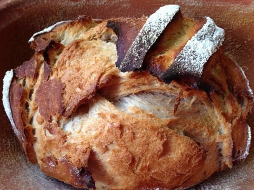bread crispy homemade