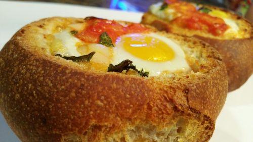 bread filling egg