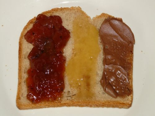 bread breakfast topping