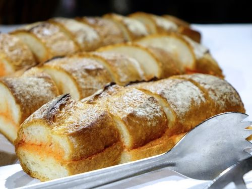 bread baked food