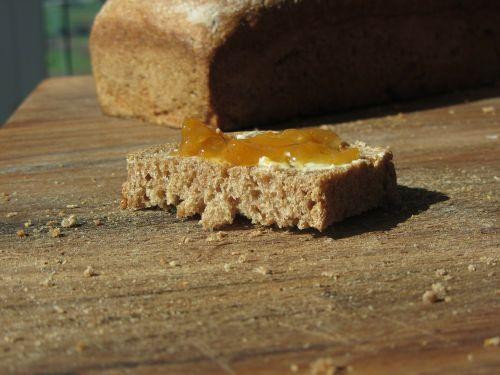bread jam close