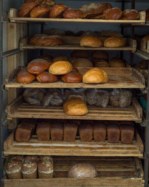 bread buns loaf