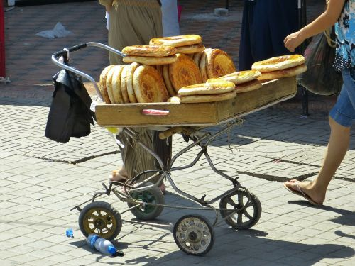 bread flat bread food