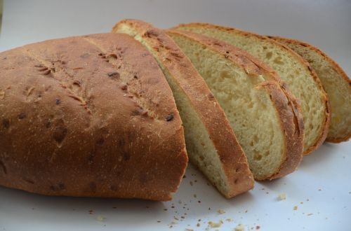 bread loaf food