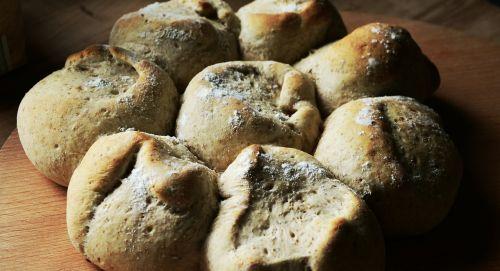 bread roll baked
