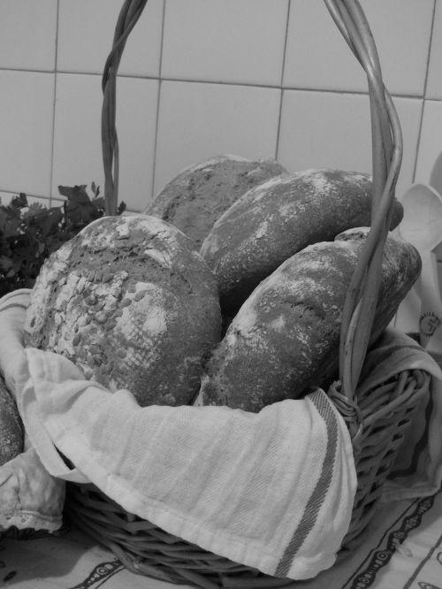 bread basket loaves