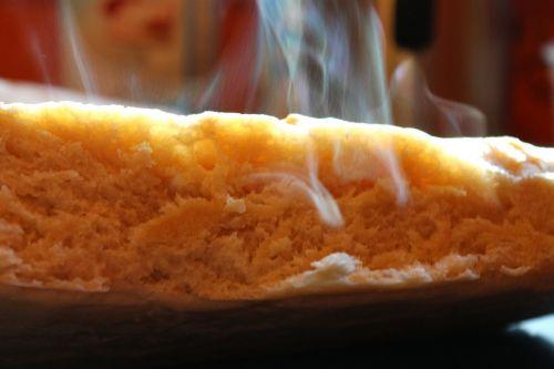 bread homemade frisch