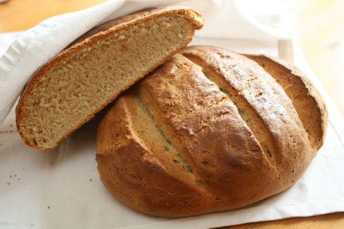 bread freshly baked homemade