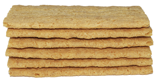 bread discs stacked