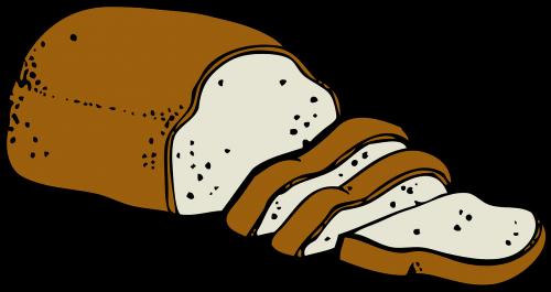 bread food slice