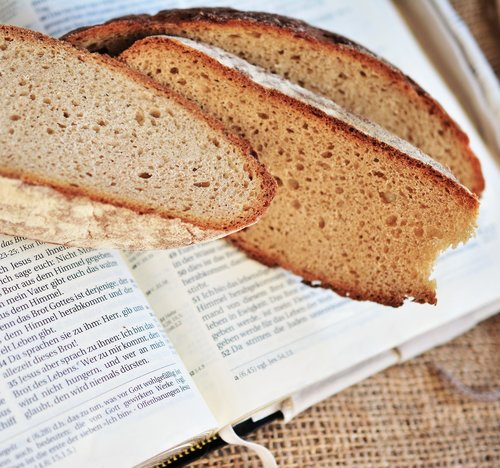 bread  bread of life  gospel