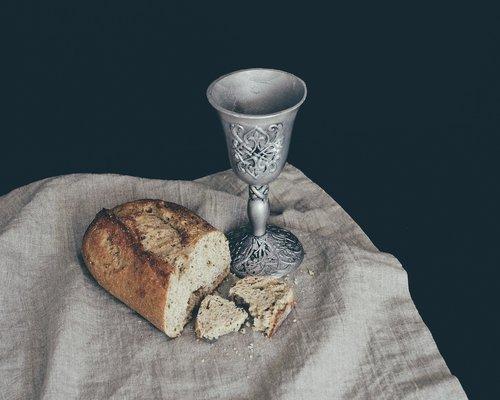 bread  communion  eucharist