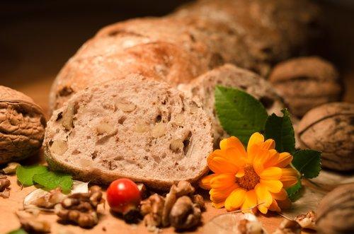 bread  nut bread  nutrition