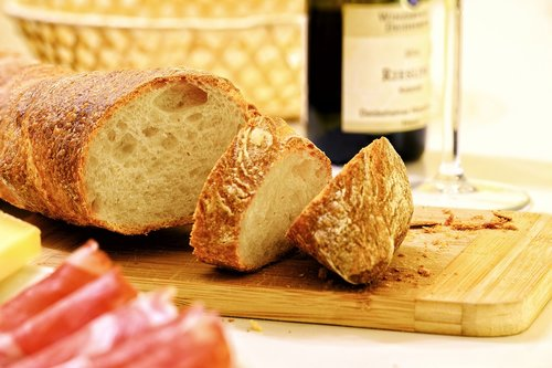 bread  baguette  snack