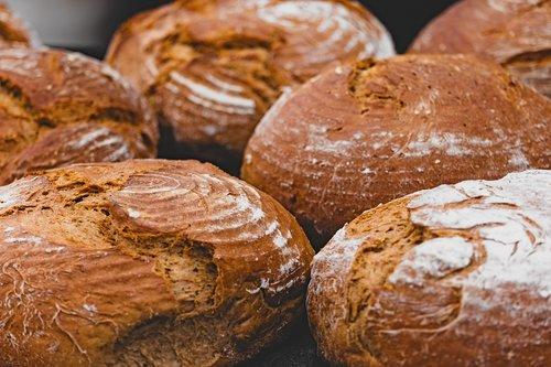 bread  loaf of bread  crispy