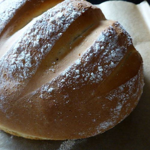 bread dough crispy