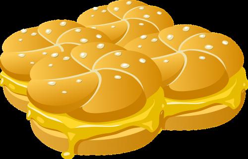 bread sandwiches cheese
