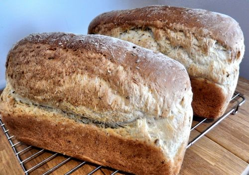 bread oats flax