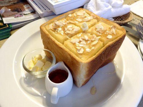 bread honey butter