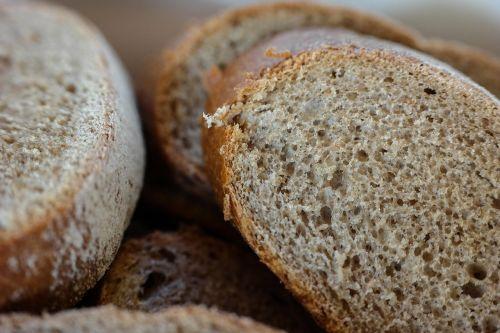 bread disc slice of bread