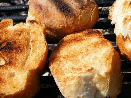 bread crispy grill