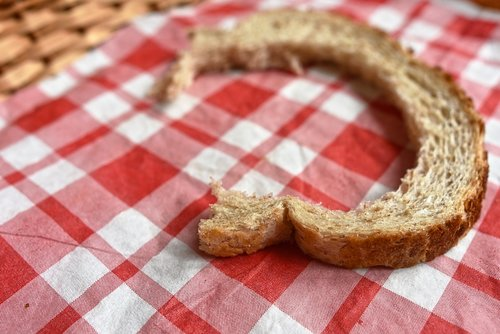 bread crust  food  nutrition