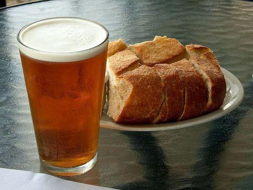 breads beer foods