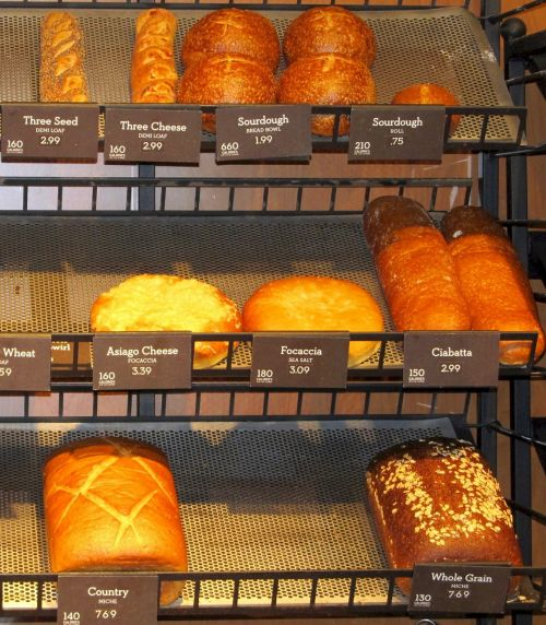 breads loaves bakery